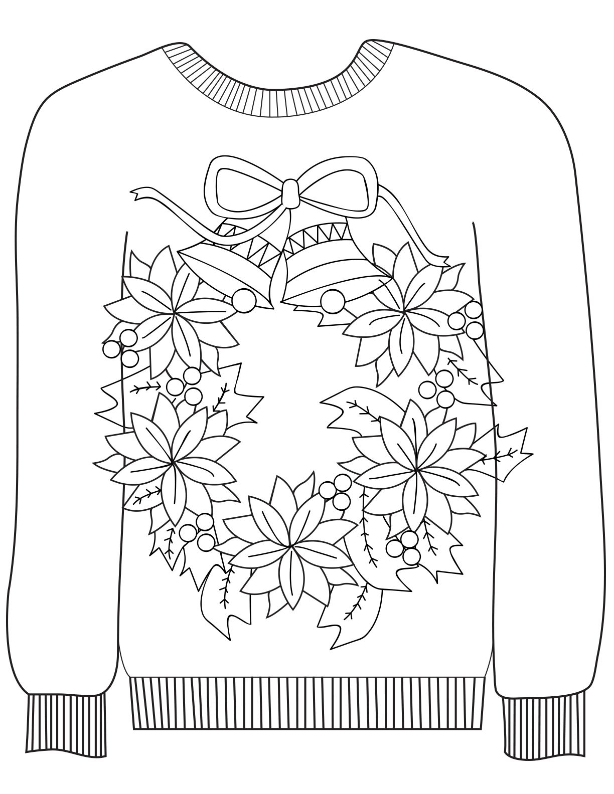 Wreath ugly sweaters pinterest wreaths stress reliever and