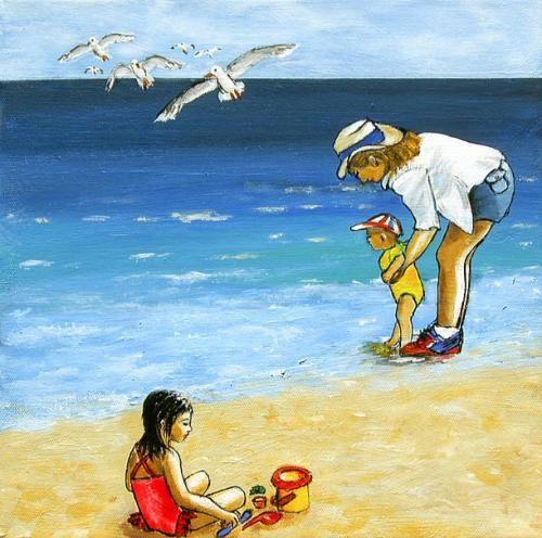 Leute am strand kennenlernen