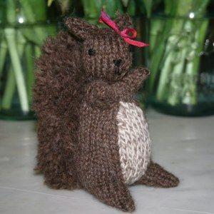 Download Our Squirrel Pattern Diy Free Knitting