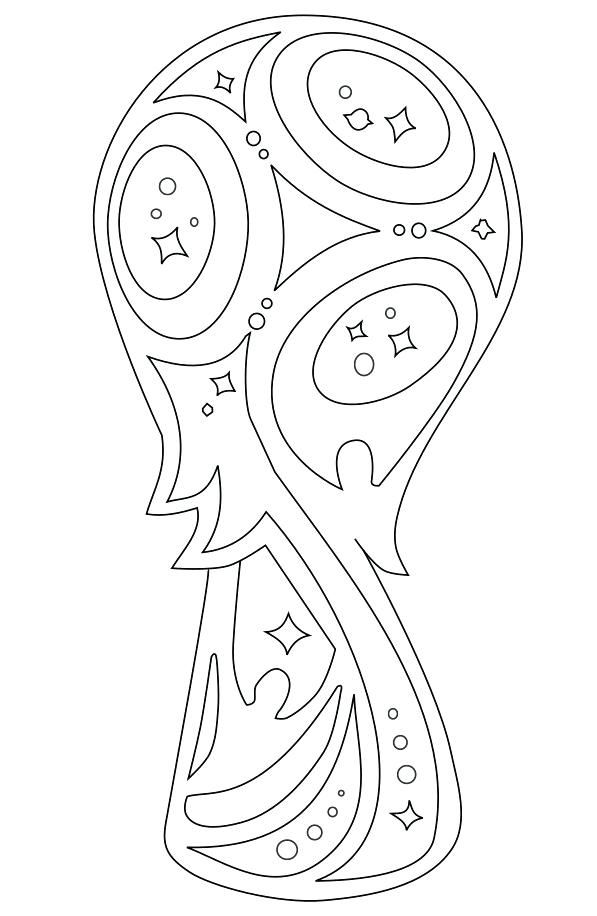 Coloriage de foot coupe du monde 2014 coloriage coupe du - Dessin en coupe ...