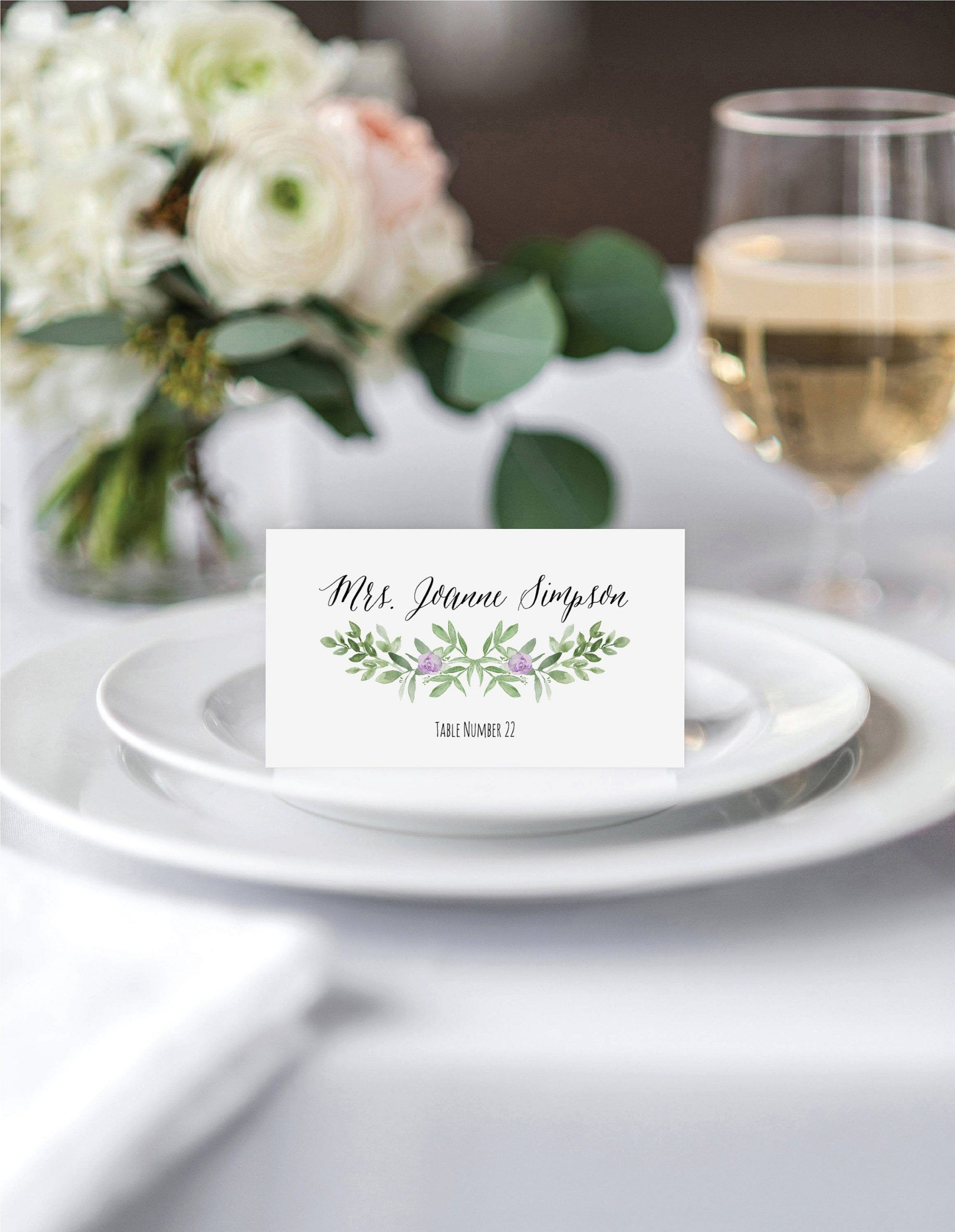 Avery Place Card Template In 2021 Printable Place Cards Wedding Wedding Place Card Templates Printable Place Cards