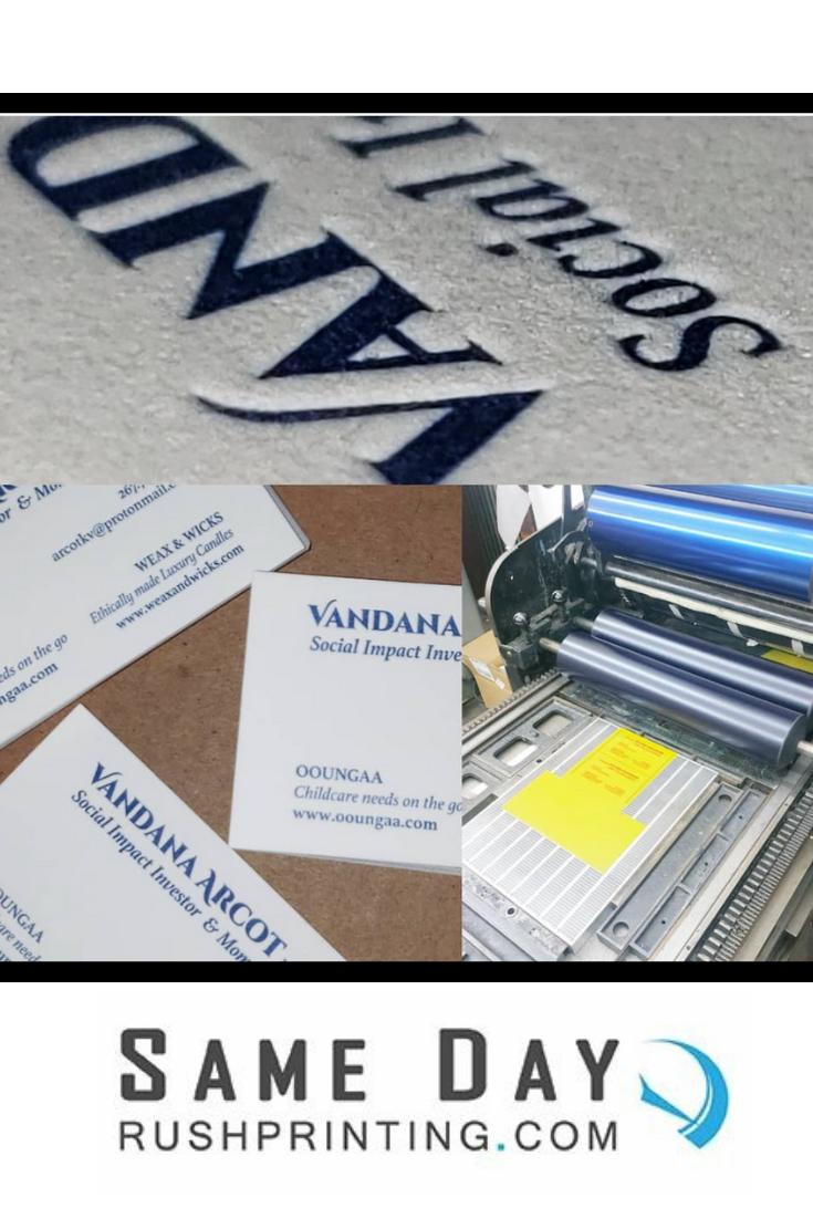 Letterpress Samedaydelivery Samedayprinting Letterpress Businesscards Custombusinesscards Fancy High Cotton Business Cards Custom Business Cards Prints
