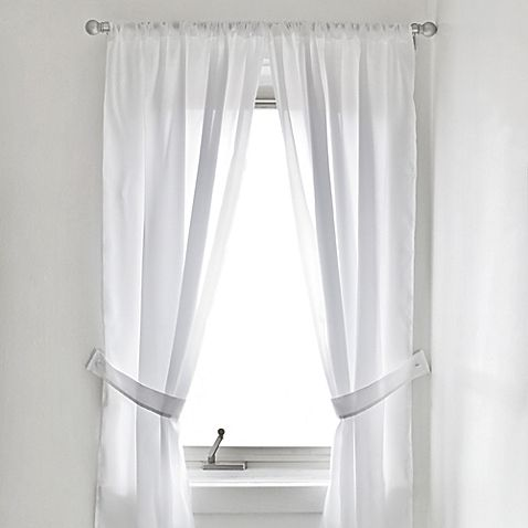 Soft As Silk This Vinyl Bathroom Window Curtain Will Bring A Complete And Stylish Look To Your B Bathroom Window Curtains Bath Window Panel Curtains
