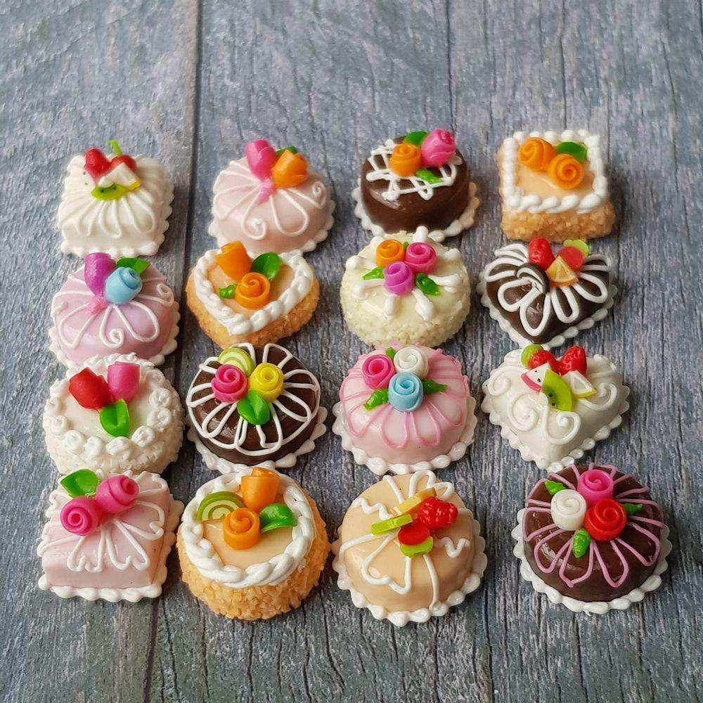 16x mini rose cake mix lot dollhouse miniature food bakery