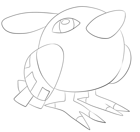 Click To See Printable Version Of Natu Coloring Page