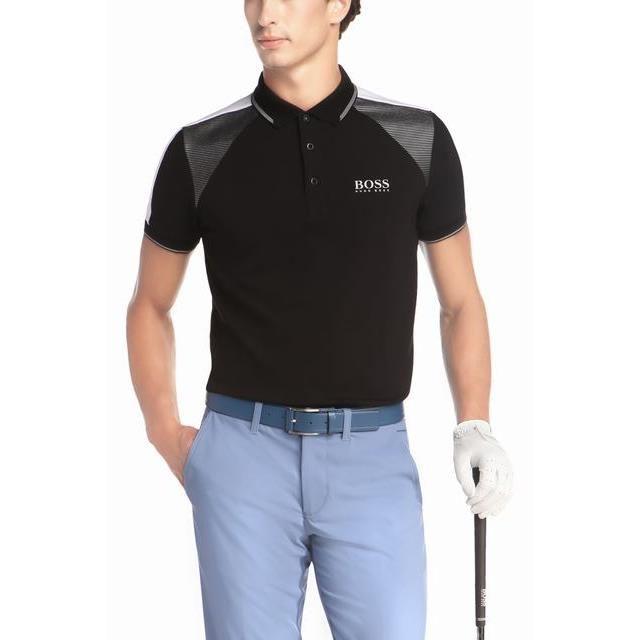 Fat Boy-Dog Illustration Mens Short Sleeve Polo Shirt Regular Blouse Sportswear