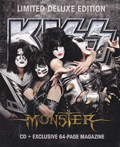 Kiss - Monster Zine Pack LIMITED EDITION CD + Exclusive 64 Page Magazine