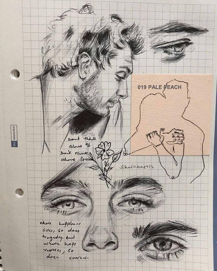 Drawing the Soul auf Instagram: â € žDiese Skizzen von Amu sind einfach wunderschön ... - Ansichten #sketchart