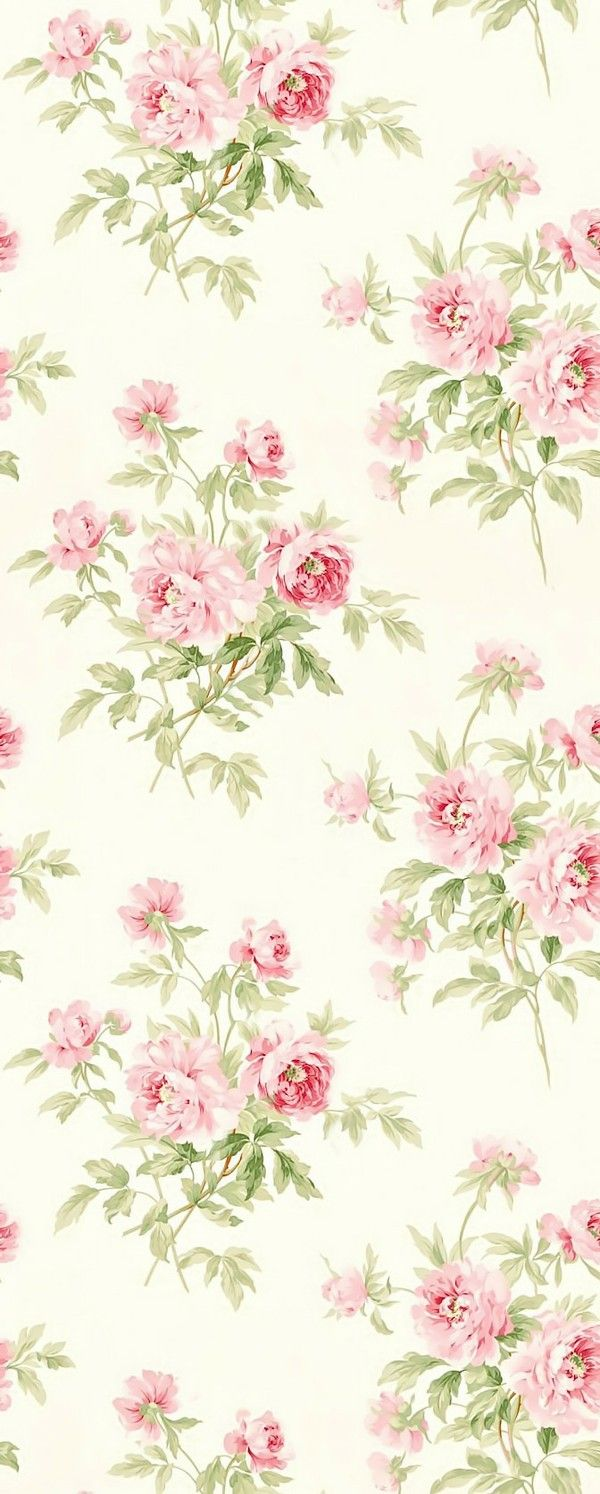 Fl Watercolor Hand Painted Flower Garden Wallpaper Background Material Tiled Iphone
