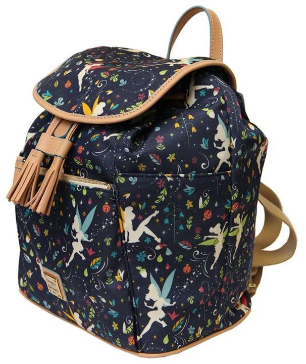 0c557c8d64 I m LOVING the new 2015 Dooney   Bourke Tinker Bell Half Marathon pattern!  Here it is! There are 4 styles. Here are the prices  Dooney   Burke Backpack   ...