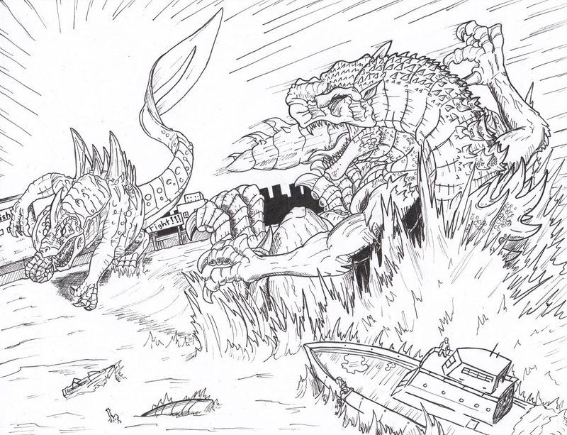 king ghidorah coloring pages fantasy coloring page godzilla