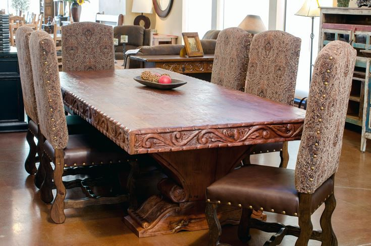 Master Mesquite Dining Table 2 Mezquite Dining Table Dining Table