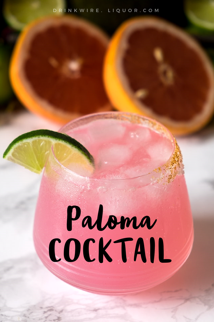 The Paloma, Your New Favorite Tequila Cocktail #tequiladrinks