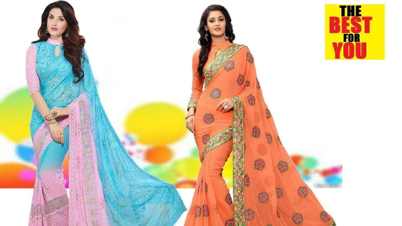 Indian Sari Sarees and Pakistani Sari Dresses for Women in Flipkart and  amazon shopping online 8a50d769a5b1
