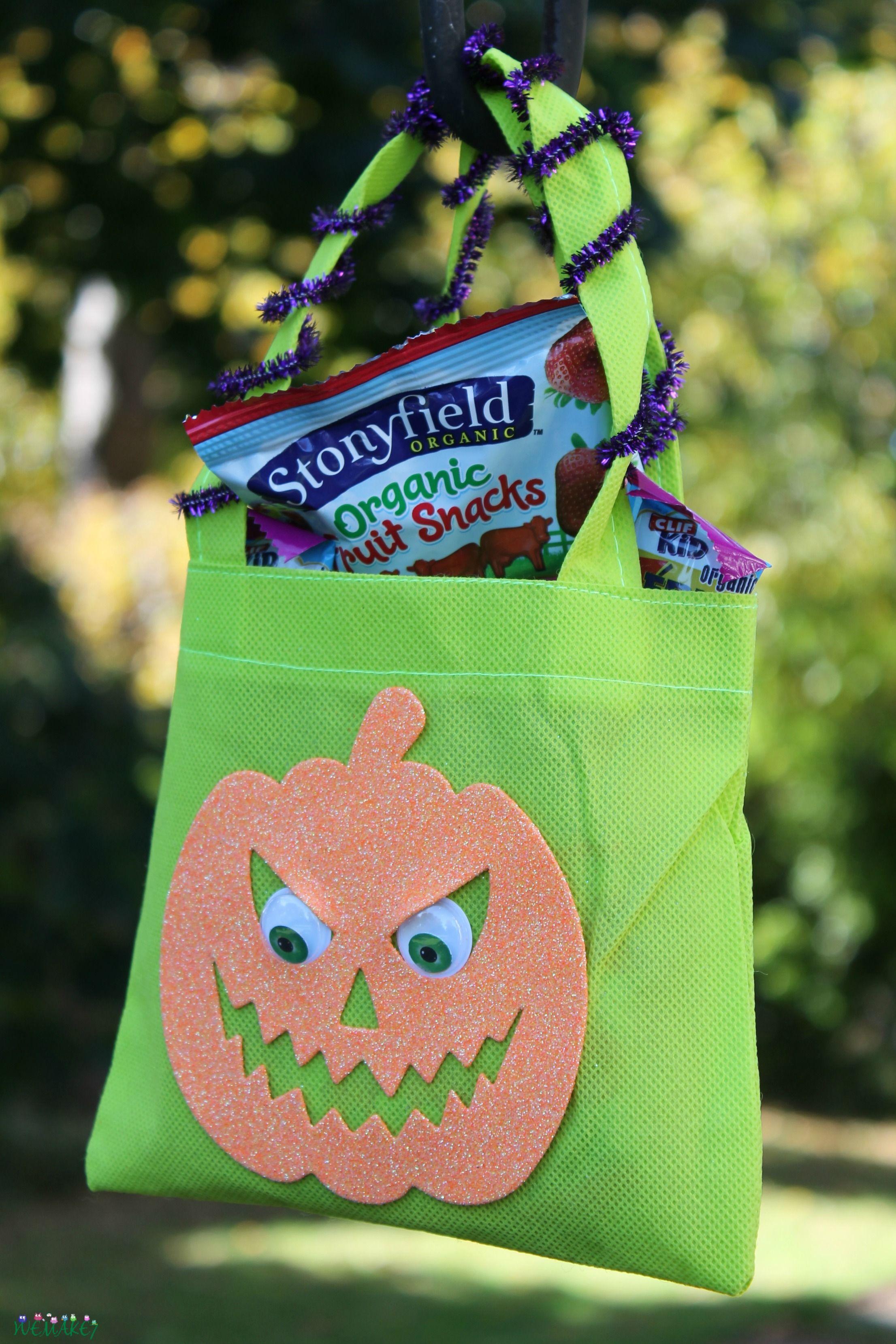 Dollar Tree Diy Halloween Goody Bag Craft Halloween Goodie Bags