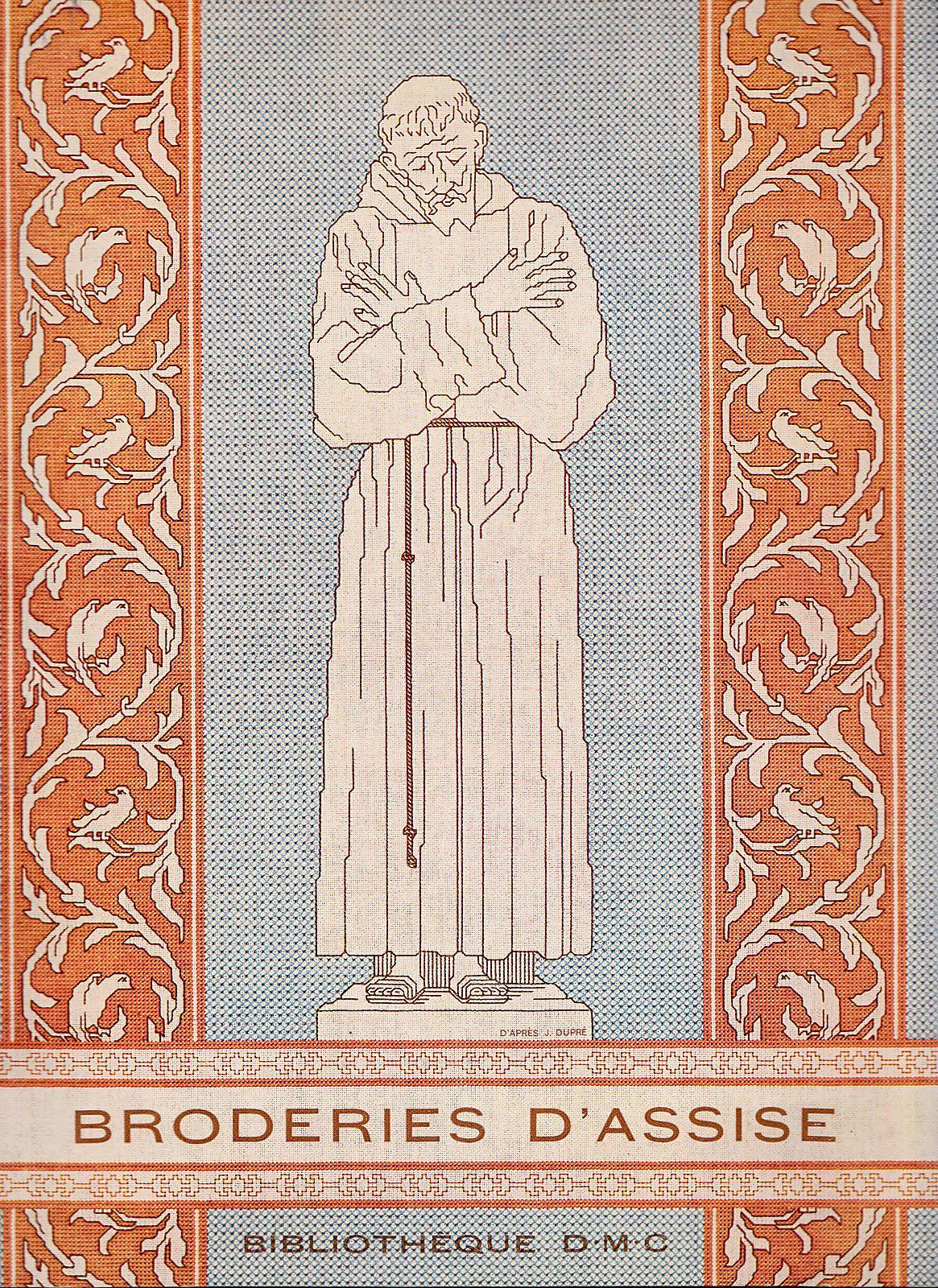 Bibliothek D.M.C.-BRODERIES D'ASSISE-Editions Th.de Dillmont,Mulhouse   eBay