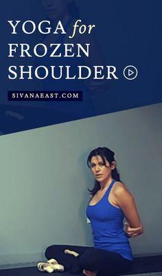 yoga for frozen shoulder  frozen shoulder yoga shoulder