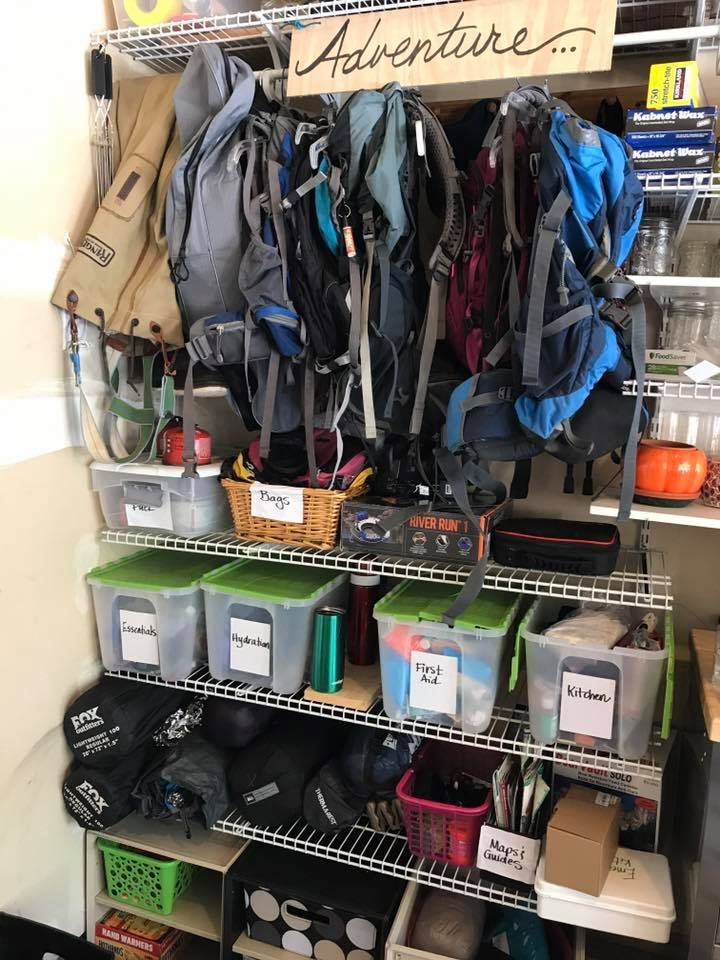 Photo of An idea on organizing my outdoor gear