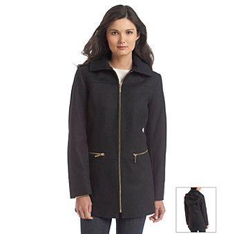 Product: MICHAEL Michael Kors® Hooded Zipfront Jacket