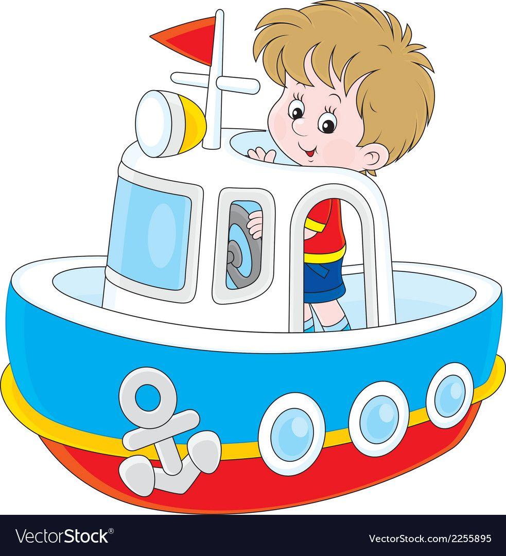 Little seaman vector image on Boys playing, Seaman