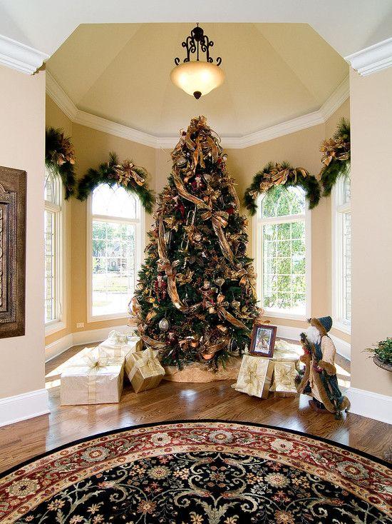 Christmas Design Houzz Elegante Weihnachtsbaume Weihnachtliches