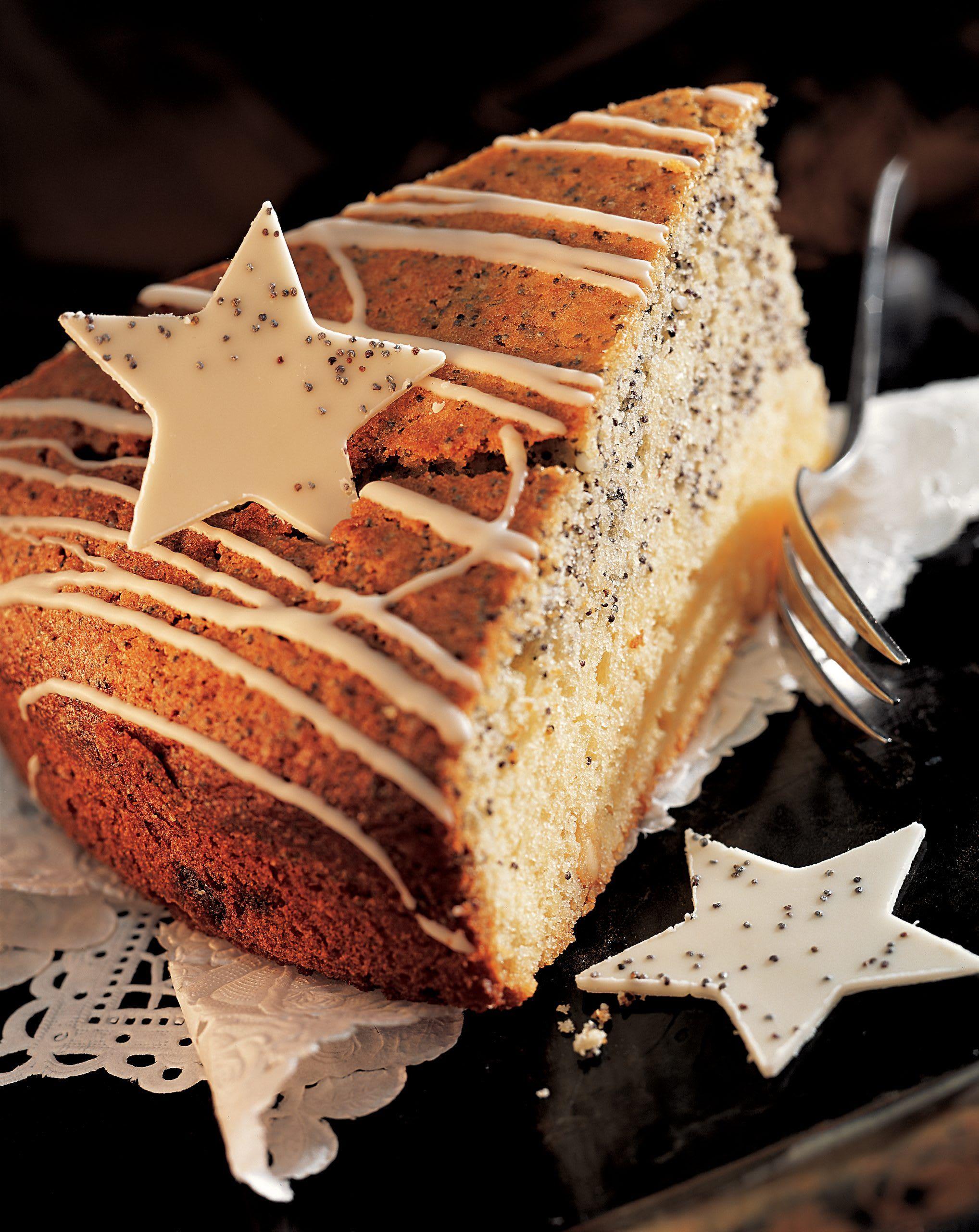 Weisser Schokoladen Mohn Kuchen Rezept Swissmilk Kuchen Rezepte Kuchen Zutaten Rezepte