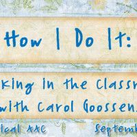 How I Do It: Cooking in the Classroom with Carol Goossens'