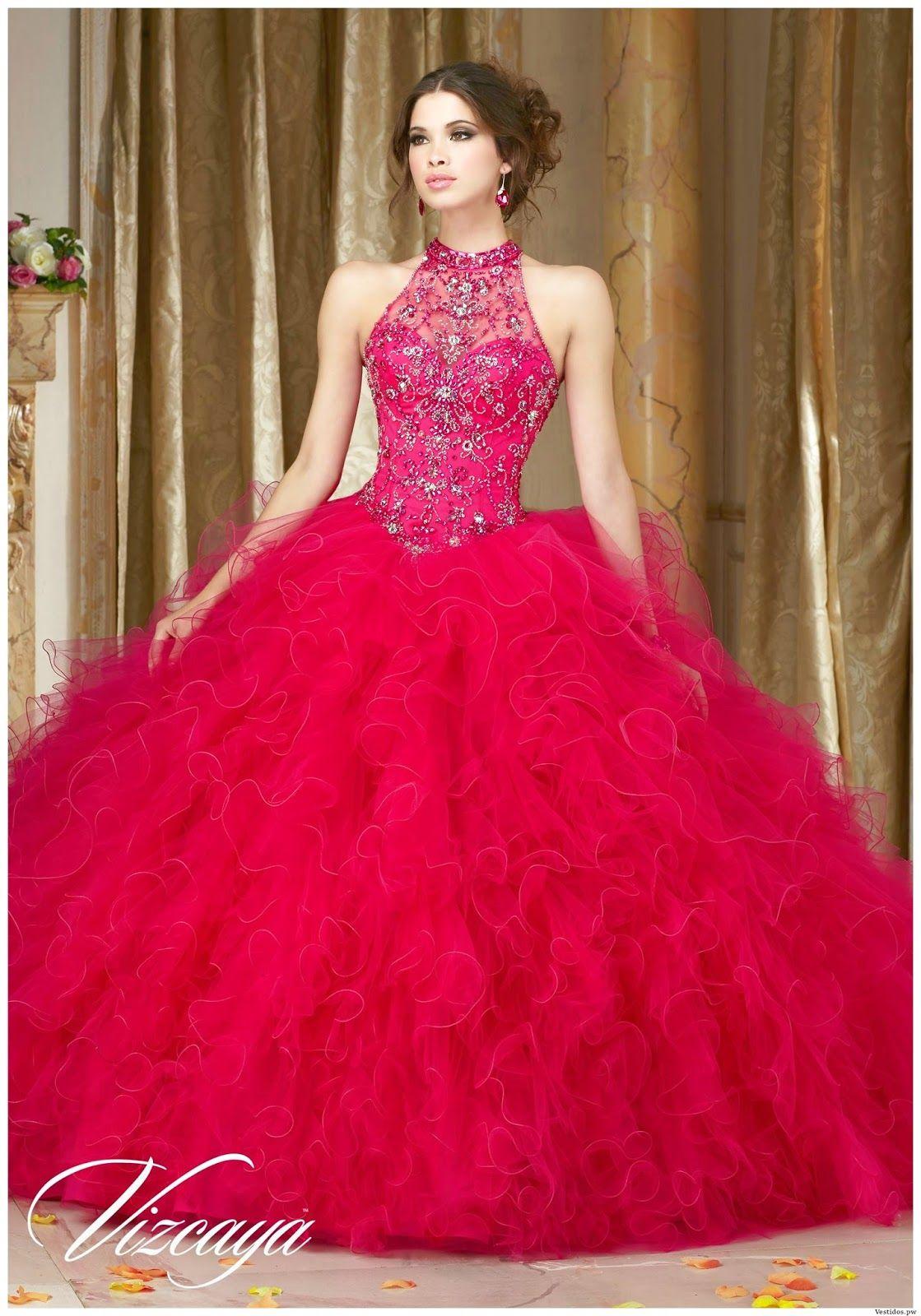 c14b1825f Vestidos de XV Años Rojos