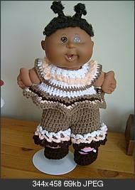 free crochet pattern for 15 inch doll outfit