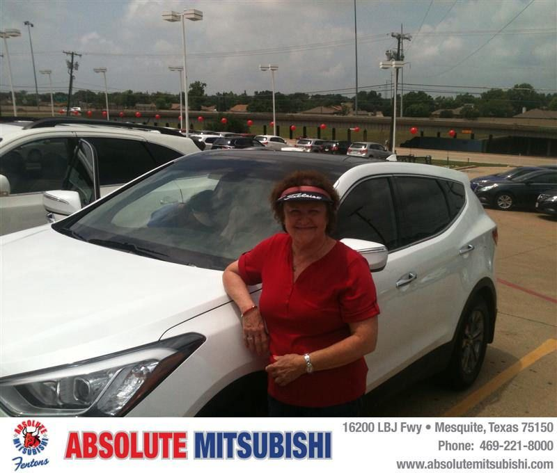 HappyBirthday to Shirley from Brian Holmes at Absolute Mitsubishi!