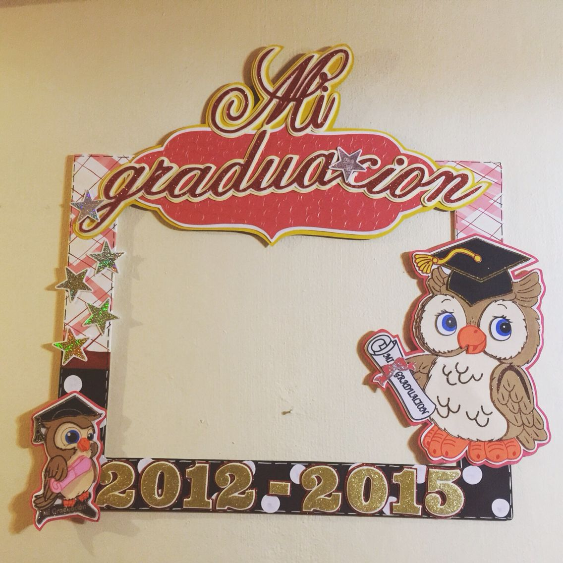 marco de graduacion