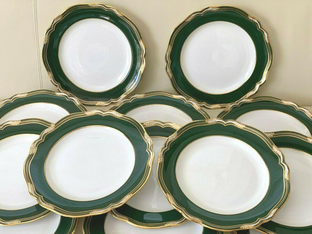Vintage Spode Porcelain Harrogate 10 7 8 Dinner Plates Set Of 13 Spodecopeland In 2020 Spode Porcelain Spode Dinner Plate Sets