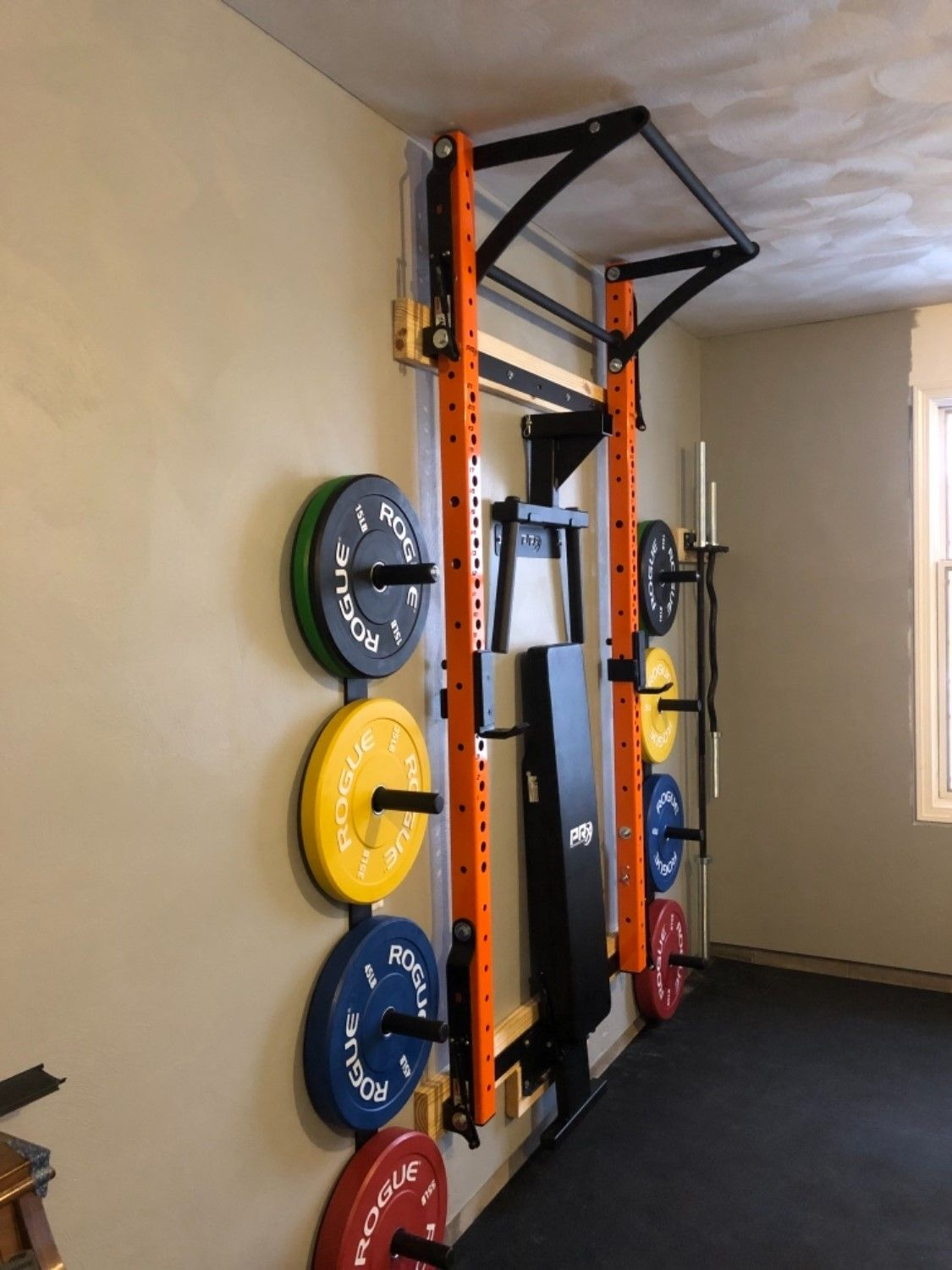 Profile® PRO Squat Rack with Kipping Bar™ in 2020 Diy