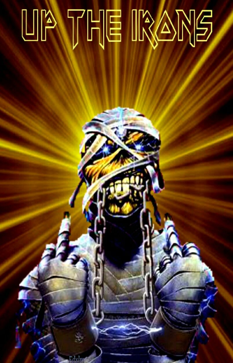 Up the irons!!                                                                                                                                                                                 More
