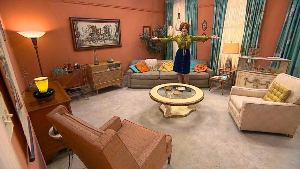 All The Best Interiors From Mad Men Sunken Living Room Mid Century Modern Design Mid Century Modern Interiors