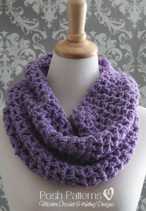 Lacy Cowl Free Crochet Pattern | Bufandas de punto, Blusas lindas y Gaby