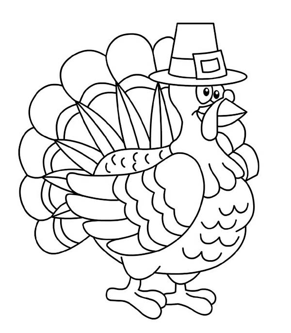 Turkey Coloring Pages Virtual Photos