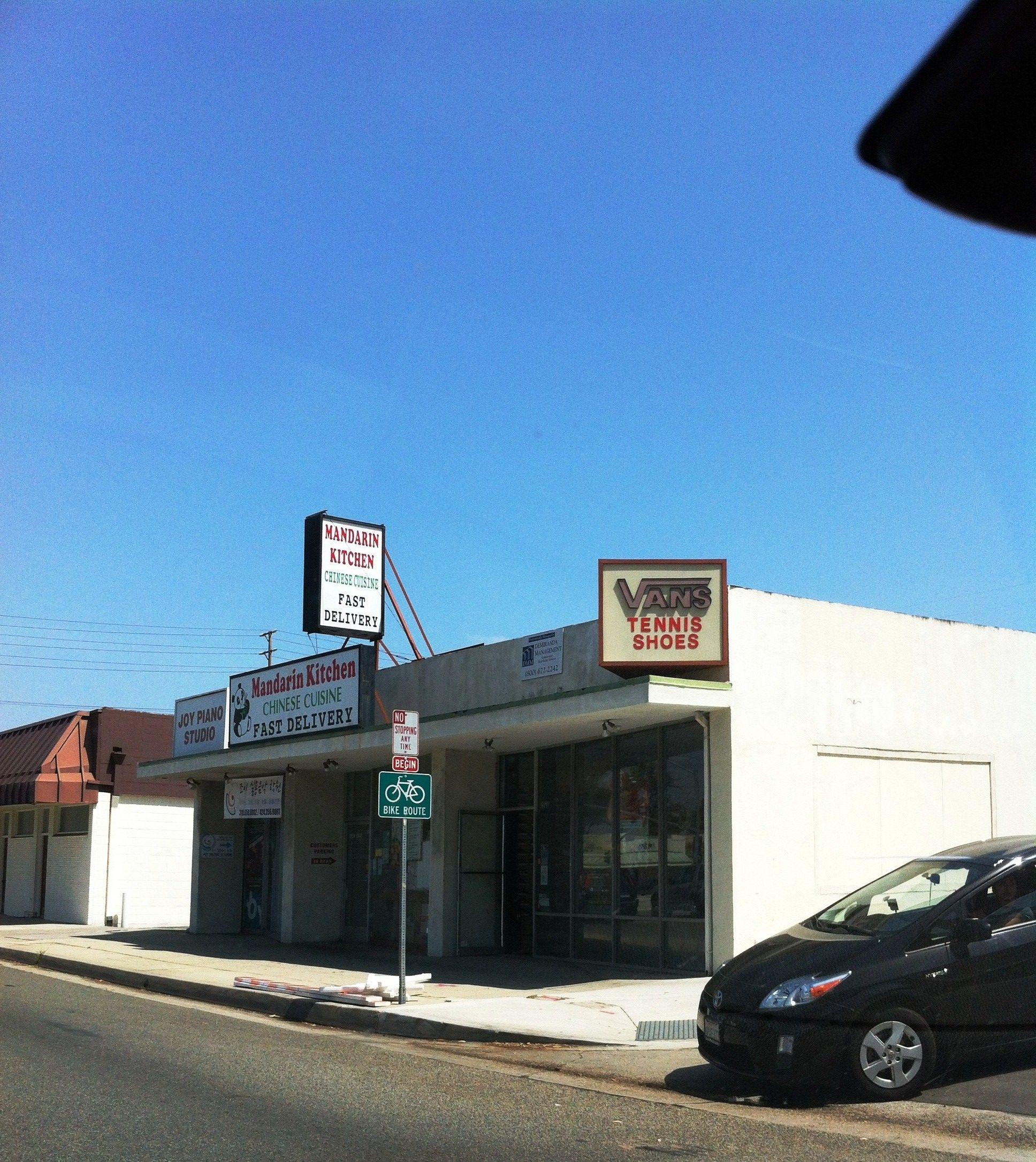 One of the original Vans skateboard shoe stores. Torrance, CA ...