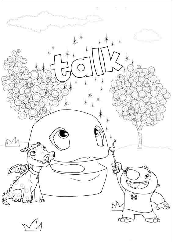 Wallykazam Coloring Pages 23 | Coloring pages for kids | Pinterest ...