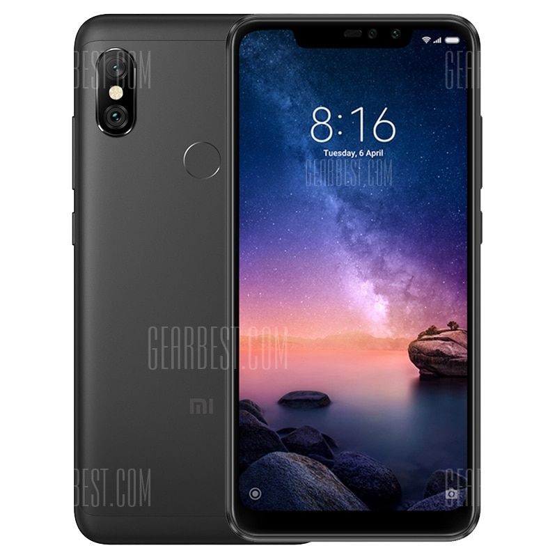 Xiaomi Redmi Note 6 Pro 4g Phablet Black Cell Phones Sale Price Reviews Accessoire Telephone Portable Reseau Local Smartphone