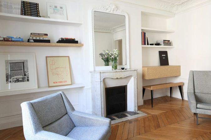 atelier premieretage appartement haussmannien contemporain decors ref pinterest. Black Bedroom Furniture Sets. Home Design Ideas
