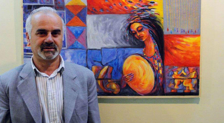 التشكيلي محمد سعدون وإختزال روح المكان الصدى نت Painting Art