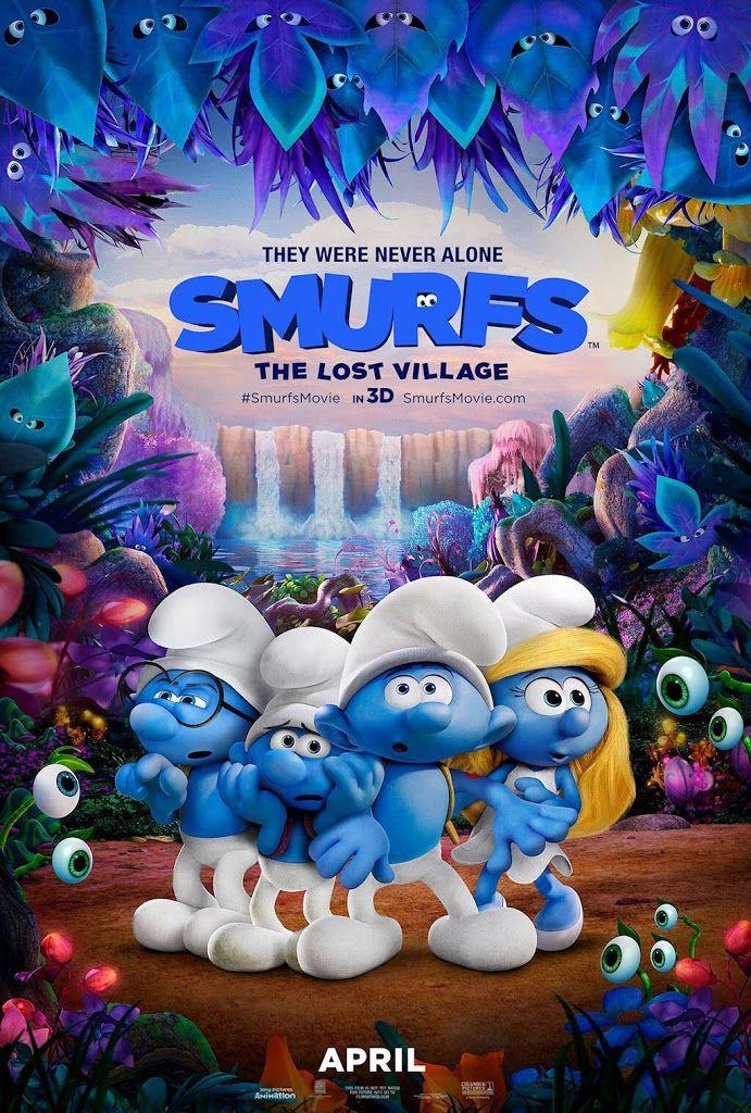 Smurfs The Lost Village Movie Poster No 2 Smurfs Movie Lost Village Free Movies Online