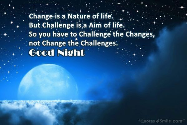 Good Night Quotes Pictures And Sms Messages Best Collection Good Night Quotes Night Quotes Time Quotes