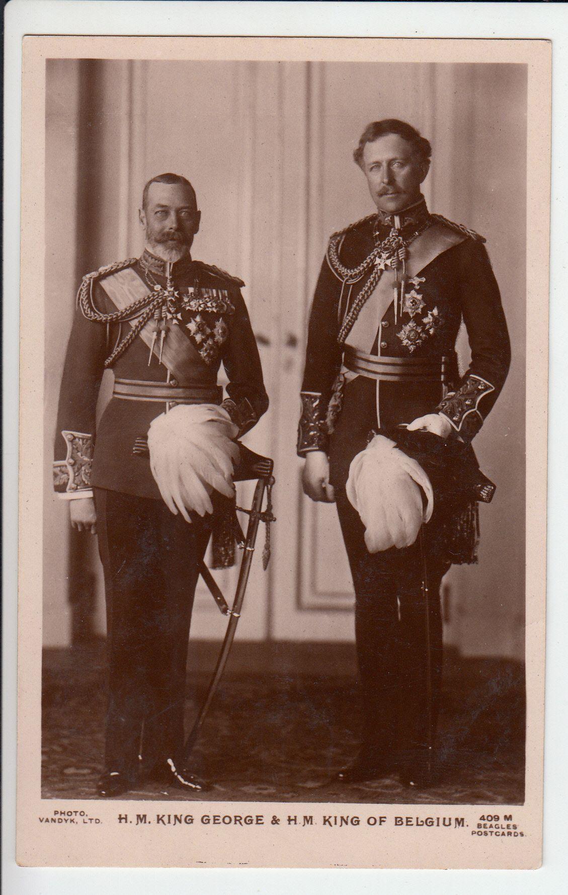 Descendants of George V
