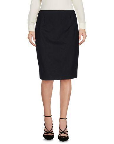 JIL SANDER Knee Length Skirt. #jilsander #cloth #dress #top #skirt #pant #coat #jacket #jecket #beachwear #