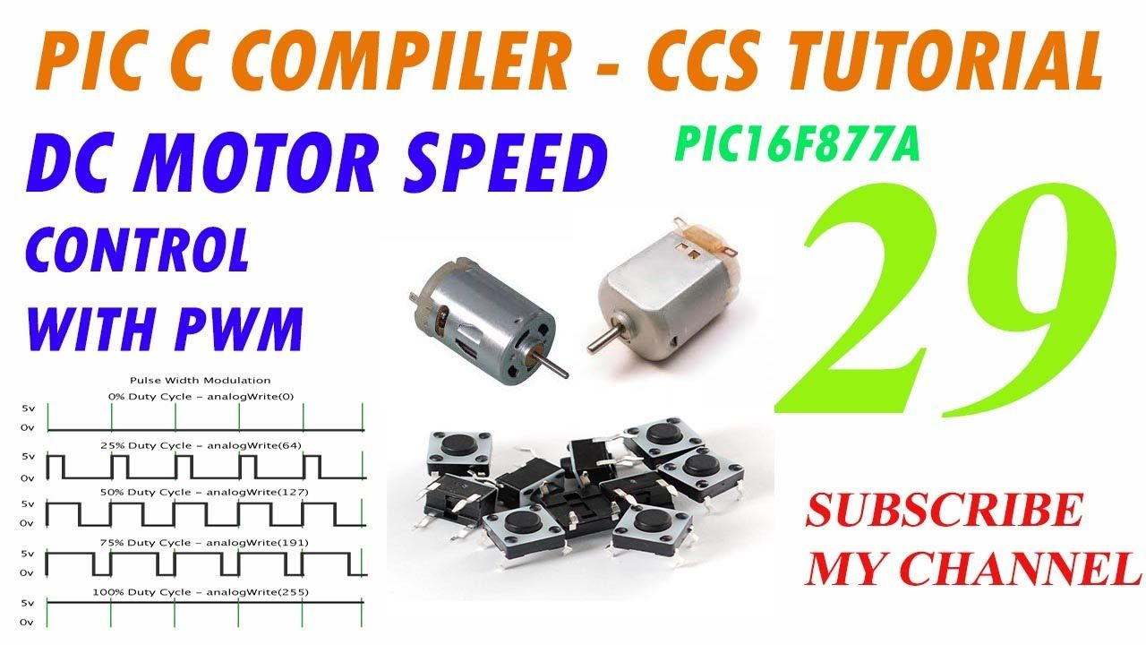 Motor Speed Control Using PWM (Pulse Width Modulation) with