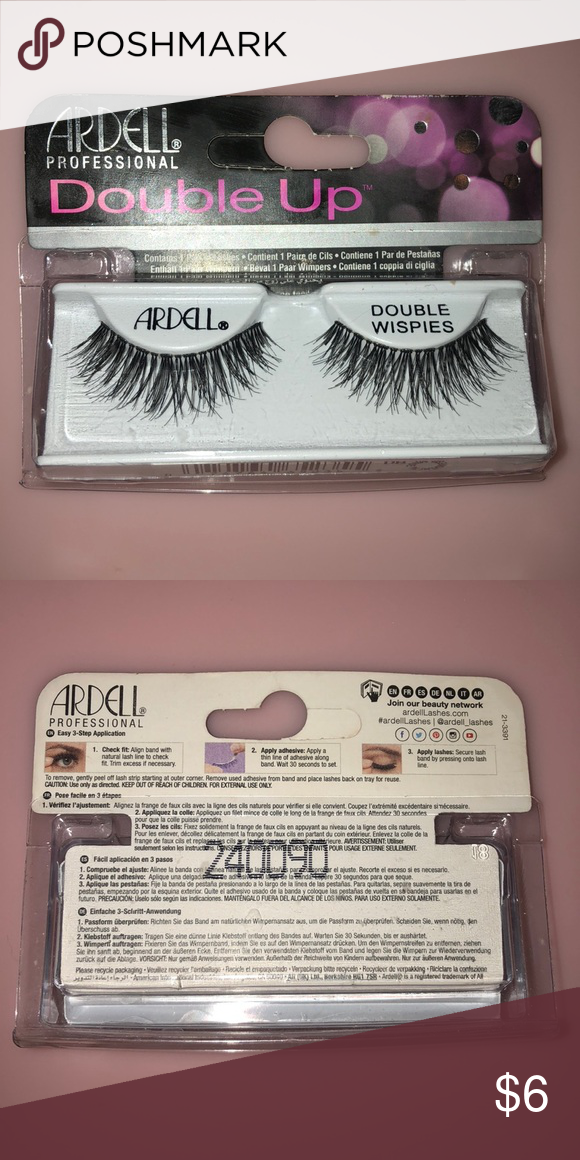 20a7411d3e4 Ardell Professional Double Up Wispies False Lashes NWT! Brand new in  package! Never opened never used! Super cute false eyelashes!