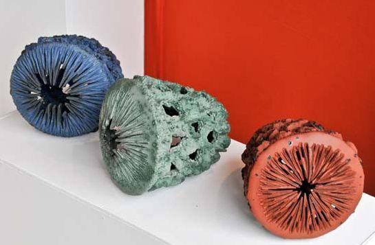 Gabrielle Baecile ceramic sculptures