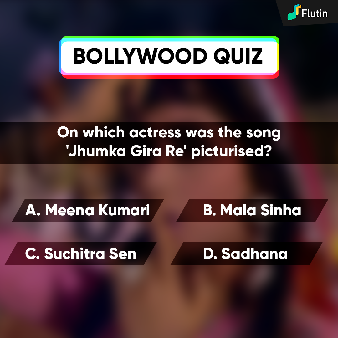 Flutin Music Bollywood Quiz Trivia In